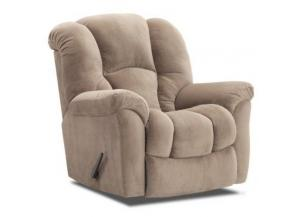 Transformer Almond Rocker Recliner