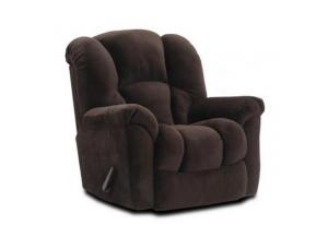 Transformer Espresso Rocker Recliner