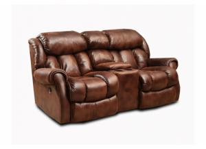 Cody Espresso Rocking Reclining Loveseat