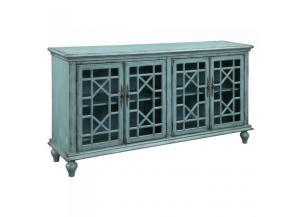 Image for Bayberry Blue Media Credenza