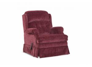 Carolina Wine Swivel Glider Recliner