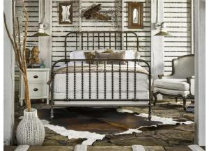 The Guest Room Queen Metal Bed