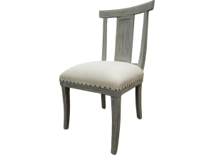 Urban Industrial Chair with Cushion in Toscano Grey