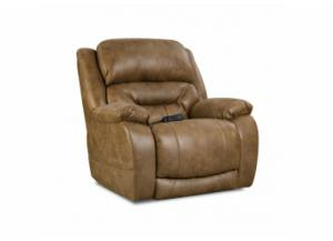 Enterprise Saddle Power Recliner with Adjustable Head and Lumbar