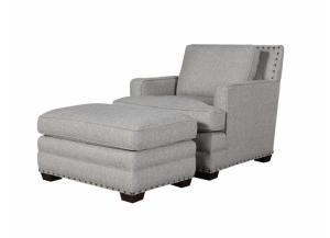 Riley Chair and Ottoman