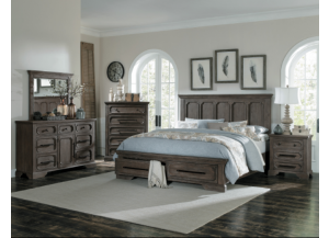 Toulon Queen Storage Bed