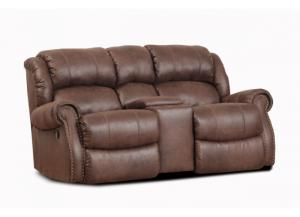 Wyoming Espresso Rocking Reclining Loveseat