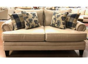 Catalina Linen Loveseat