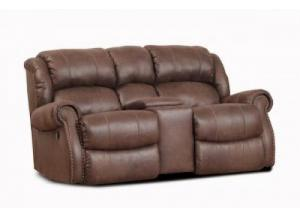 Wyoming Reclining Loveseat with Console