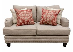 Longevity Muslin Loveseat