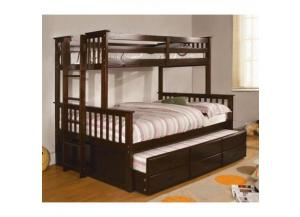 CM-458-T+F- EXP twin full bunkbed