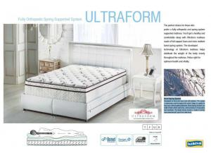 FULL ULTRA FOAM MATTRESS TOP ONLY
