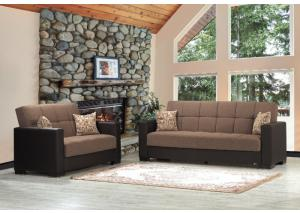 ARMADA SOFA W /SLEEPER AND STORAGE FROM CASAMODE