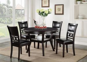 Gia Regular Dining Room Table and 4 Chairs