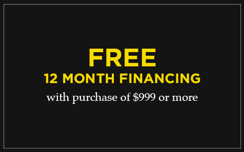 Free 12 Month Financing at Aloha Furniture