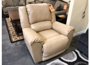 Top-Grain Leather Power Recliner