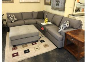 Modern Gray Sectional with Lifetime Warranty from Stanton [Made in Oregon]