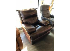 Leather Swivel Reclining Chair from Ashley