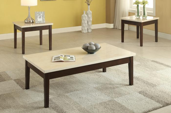 F3126 3 piece coffee table set,MEK IMPORTS
