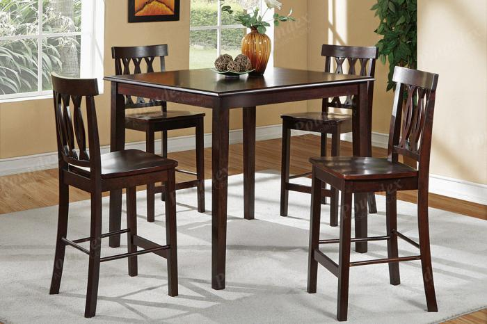 F2259 5 piece dining set package includes 4 chairs,MEK IMPORTS