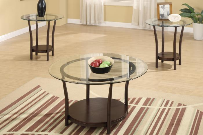 F3095 3 piece coffee table set,MEK IMPORTS