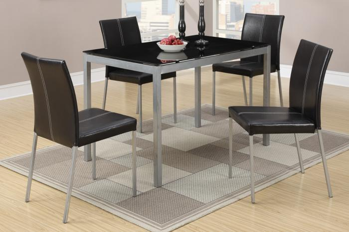 F2363 5 piece dining set package includes 4 chairs,MEK IMPORTS