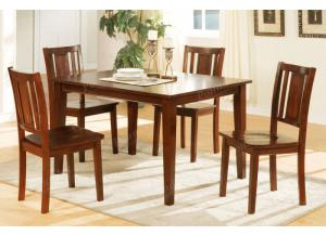 F2249 5 piece dining set package includes 4 chairs