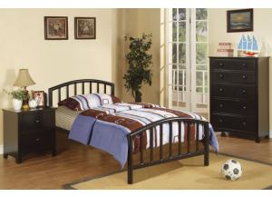 F9018 Twin Youth Bed with chest and nightstand
