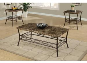 F3097 3 piece coffee table set