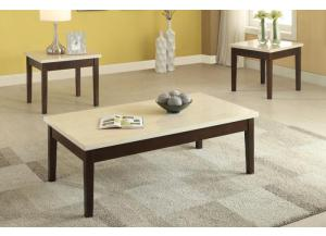 F3126 3 piece coffee table set
