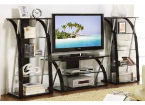 F4496/F4997 TV Stand and Media Shelf Combination