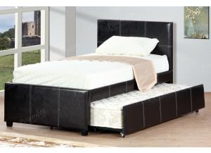 F9214 Twin Bed with trundle, slats included (Bedding sold seperately,MEK IMPORTS