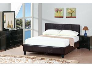 F9211 Queen Bed with dresser, mirror and nightstand (slats included)