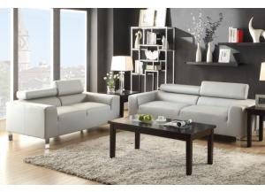 F7265 2 piece sofa set with tilting headrests 4 colors available