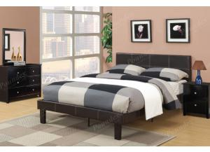 F9212 Full Youth Bed with dresser, mirror and nightstand