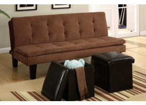 F7196 Adjustable sofa with 2 piece ottoman
