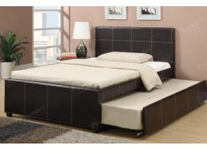F9214 Full Bed with trundle, slats included (Bedding sold seperately