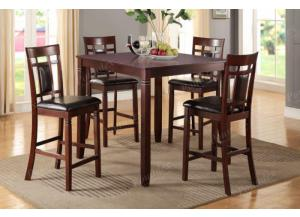 F2252 5 piece dining set package includes 4 chairs