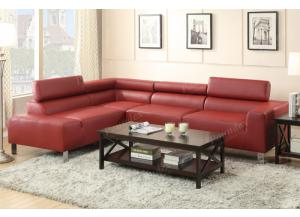F7300 2 piece Sofa with reversable chaise