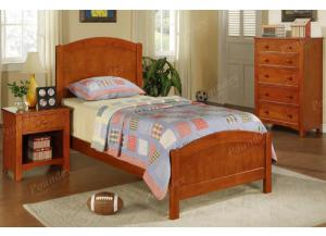 F9206 Twin Youth Bed with chest and nightstand