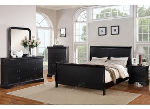 F9230 King Bed with dresser, mirror, nightstand and chest