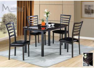 Fairmont 5PC SET: Table And 4 Chairs