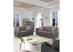 2PC SET: Etro Sofa And Loveseat