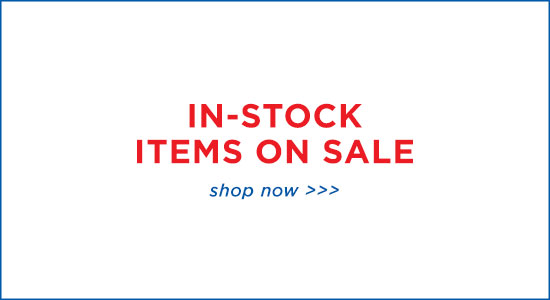 In-Stock Items on Sale