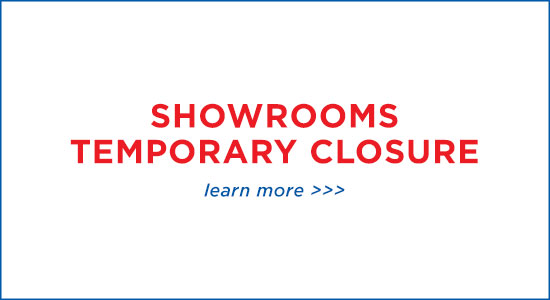 Temporary Showroom Closure