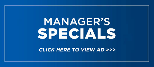 Manager's Weekly Specials
