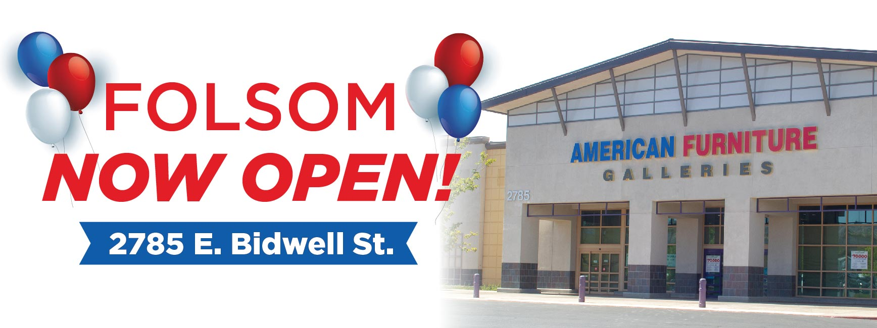 Folsom Now Open