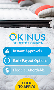 Okinus furniture financing
