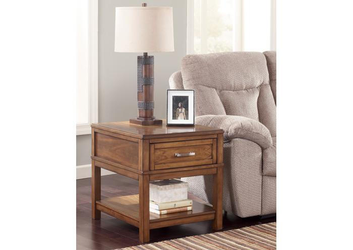 Wataskin Rectangular End Table,Amite City Showcase