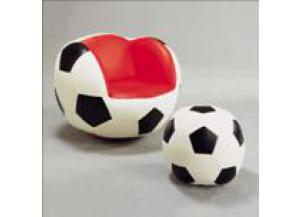 SOCCER SWIVEL CHAIR & OTTOMAN